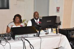 The Mayor and Wife;  Ricky & Onike Credle