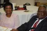 Larraine Mackey, coordinator, Class of 1966 and Willie White