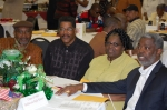 J. T. Riddick, class coordinator with classmates, Oscar Weston, Delores Murray Flynn and Leslie Oden, BHS Class of 1968