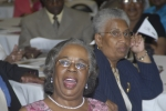 Sophia S. McCloud, BHS '63(rear) and guest(front)