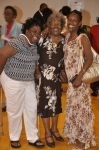 Denise Dudley, JAW Class of 1969, with mother Helen Burrus and sister, Janice Dudley