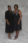 Audrey Palmer Windley and Vernalette Rosa, members of the Triangle Branch