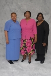 JAW Class of 1971 - alumna Ernestine Spencer Hodges, Ruby Cutler Oneal and Octavius Davis Brewington